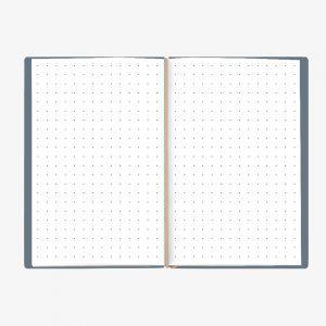 Bullet Journal Celeste White 13x21