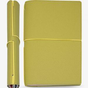 Bullet Journal Cuoio Bourbon Verde 13x21