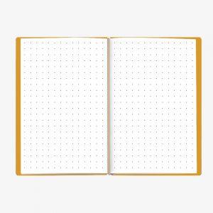 Bullet Journal Giallo White 13x21