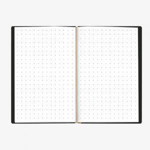 Bullet Journal Nero White 13x21