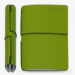 Bullet Journal Retime Verde Intero 13x21