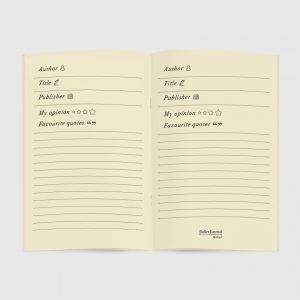 Journal Avorio Books Aperti 13x21