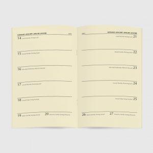 Journal Avorio Diary Aperti 13x21